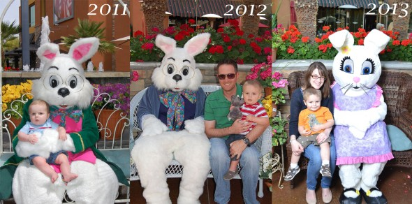 Easter Bunny 2011-2013