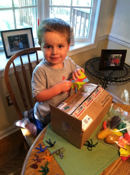 "Want to make his week? Send him a package in the mail. He calls it a ""special delivery,"" and he is beyond excited to receive it."