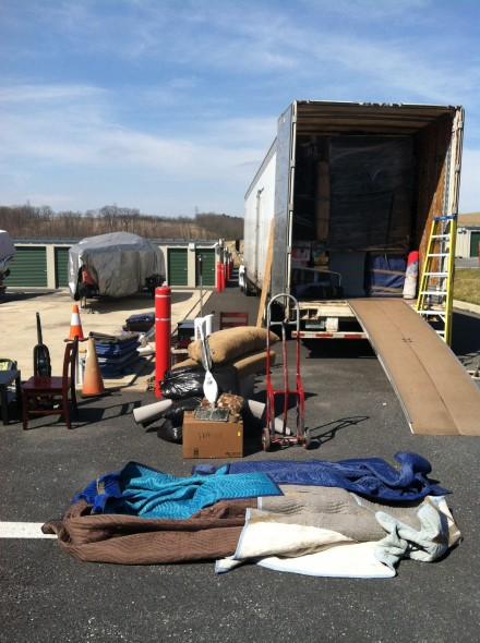 All of stuff arriving in PA.